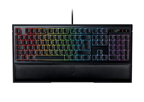 Razer Ornata Chroma - Teclado Gaming, Estandar con USB, Alambrico, Interruptor de Membrana,Teclas de Membrana, ES Layout, Color Negro