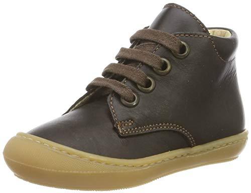 Däumling Unisex Baby Sami Sneaker, Braun (Action Espresso 30), 23 EU