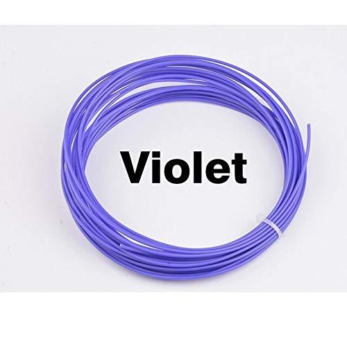 FAN-MING-N-3D, 2PCS 20 Colori 2 * 10 m 1,75 mm Stampante 3D filamento ABS modellazione stereoscopica per Stampante 3D Disegno Penna plastica Gomma Magic Print Purple
