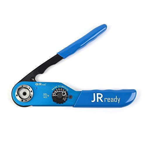 JRready JRD-AF8 Crimping Tool M22520/1-01 Solid Contact Crimper High Precision Electrical Connectors Crimp Tool 12-26 AWG