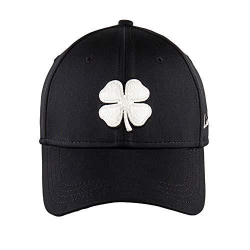 Black Clover Premium Clover 41 Flex Cap, Black/White, S/M