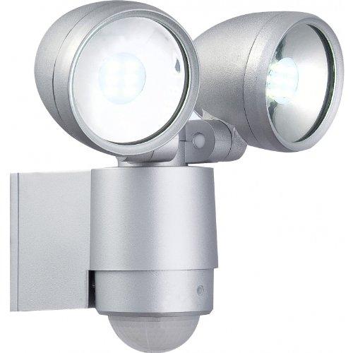 Außenleuchte Strahler Bewegungsmelder Globo LED 34105-2S Radiator II Hofbeleuchtung