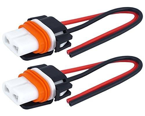 2x HB4 keramische lampen fitting stekker fitting 12/24V halogeen LED-kabel 9006 auto