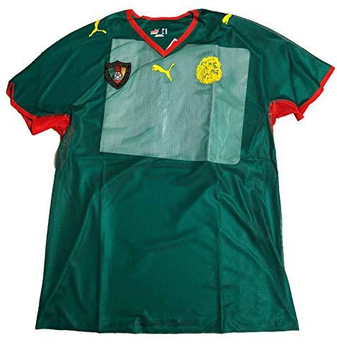 PUMA Kamerun Trikot Jersey Gr XL Cameroon Afrika Cup National Team Grün 734415 01, Größen:XL