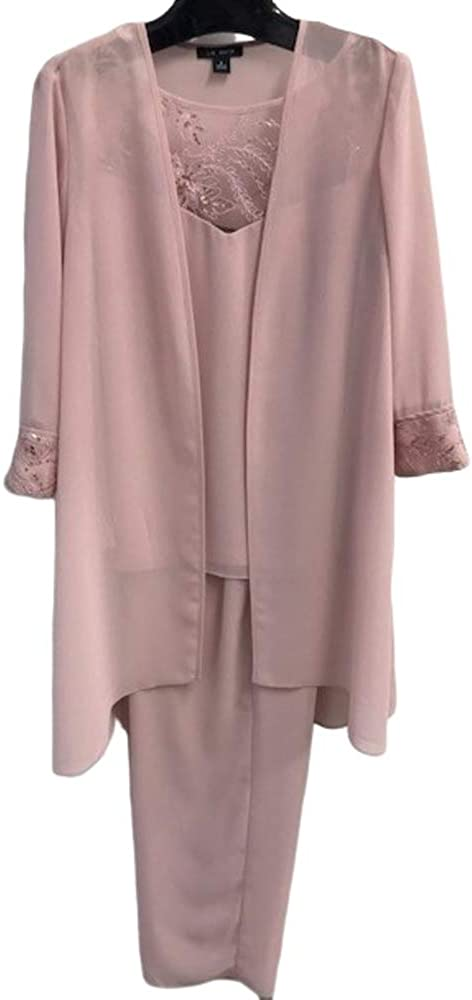 Le Bos Indianapolis Mall Women's 3 Piece Fort Worth Mall Pant Suit