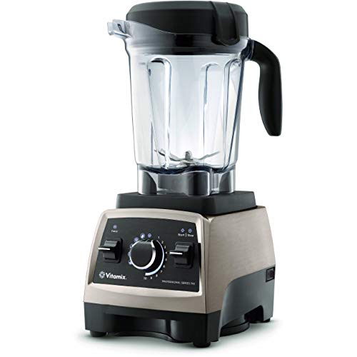 Vitamix Professional Series 750 Brushed Stainless Finish with 64-Oz....