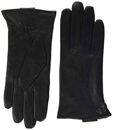 Roeckl Damen Smart Classic Nappa Handschuhe, Schwarz (Black 000), 8.5 (Herstellergröße: 8, 5)