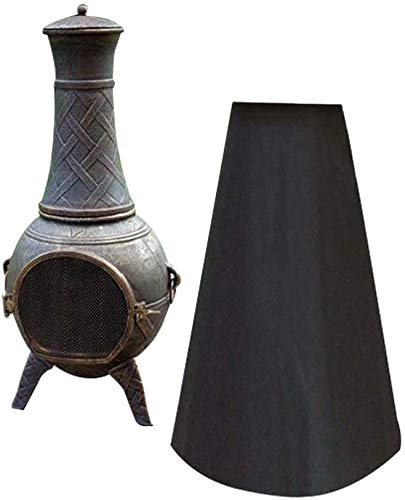 QEES Outdoor Patio Chiminea Cover Chiminea Protection with Waterproof,...
