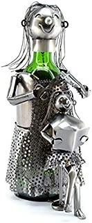 Wine Caddy Lady Hairdresser Wine Bottle Holder