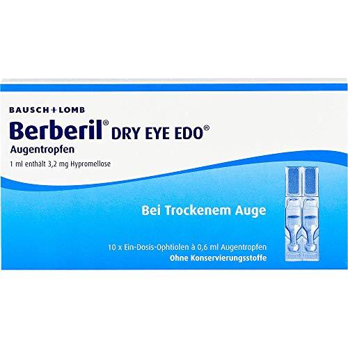 Berberil Dry Eye EDO Augentropfen bei trockenem Auge, 10 St. Einzeldosispipetten