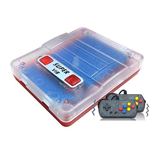 Anbernic Console di Giochi Portatile , Console di Giochi Retro Game Console Built-in 169 Classic Giochi (30 Giochi Vibranti ),TV Output Videogioco Portatile per Genitori dei Bambini Amici