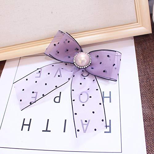 THTHT luxe strass boog broche voor vrouwen shirt pak jurk accessoires vlinder muziek geschenken feest en cravat dames lila