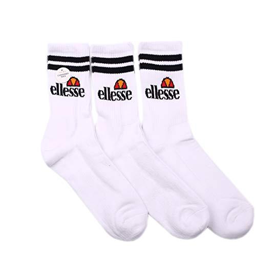 Ellesse Pullo 3 Pack Socks Damen Socken weiß, Gr.38/42 EU
