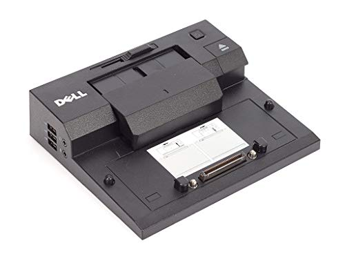 Original Dell E-Port USB 2.0 - 6PPXT (K07A) oder T4HD7 (PR03X) Docking Station + DELL 130W Power Adapter, Netzteil PA-4E (Generalüberholt)