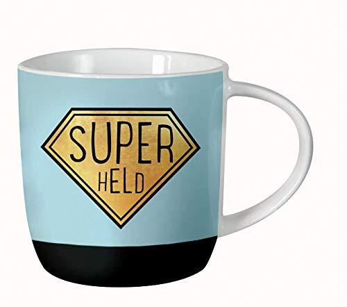 Grafik-Werkstatt 61140 Kaffeetasse fürs Büro| Porzellan verschenken | Superheld Tasse