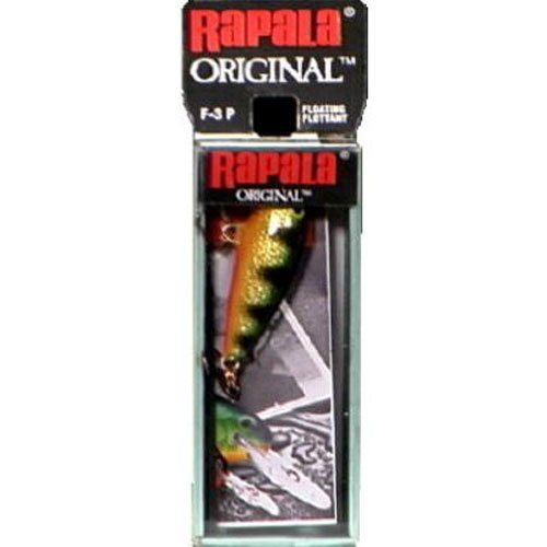 Rapala Original Floater 03 Fishing lure, 1.5-Inch, Gold
