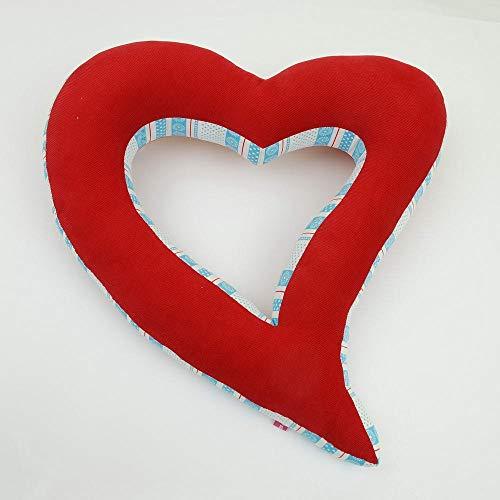 Buchstabenkissen Kissenbuchstabe Dekoration Herz