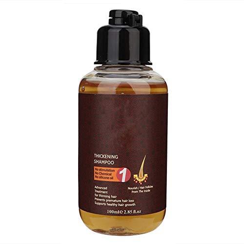 Champú anticaída, champú anticaída de 100 ml, aceite suave y champú anticaspa para el crecimiento del cabello masculino y femenino(#1)