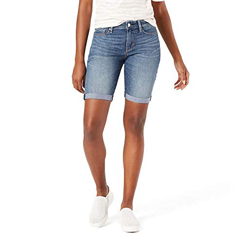 Signature by Levi Strauss & Co. Gold Label Women's Mid-Rise Bermuda Shorts, cape town, 12