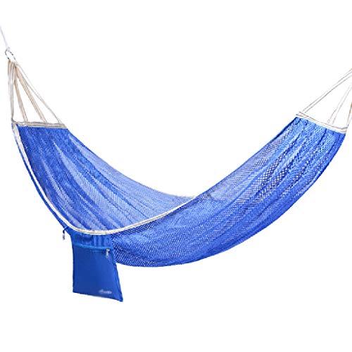 WYH Hammock Cama DE Swing Camping HAMSCA LIGHTWEY LIGHTWEED MESUD HAMCOAS para EL JARDÍN Backyard Playa AIRNUDA Columpio