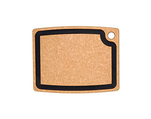 Epicurean Gourmet Series Cutting Board with Juice Groove, 14.5-Inch by 11.25-Inch, Natural/Slate