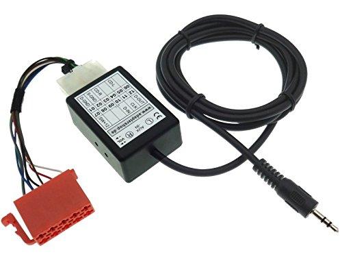 Adaptateur audio AUX Line IN - Prise jack - Interface ISO - Compatible avec radio Alpha Beta Gamma Premium