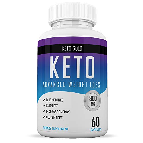 Keto Diet Pills from Shark Tank - Fat Burner Supplement for Women and Men - Boosts Energy and Metabolism - Greatest Ketosis Supplements - Rapid Weight Loss - 60 Capsules