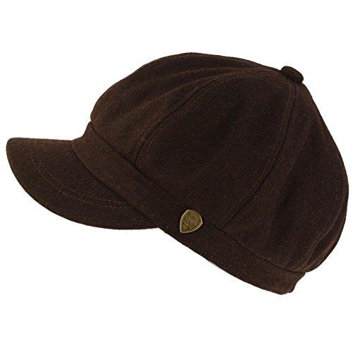 Winter Fall Wool Blend 8 Panel Oversize Newsboy Paperboy Cap Hat S/M