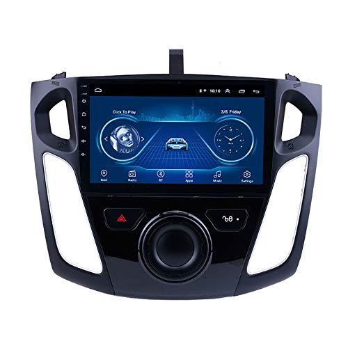 DSAK Autoradio Car Multimedia Player Coche GPS Navigator para Ford Focus 2012-2015 Desversar Video Coche DVD Navigator