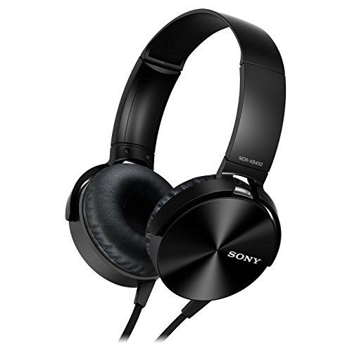 Sony MDR-XB450AP Extra Bass Headphone - Black (International Version U.S. Warranty May not Apply)