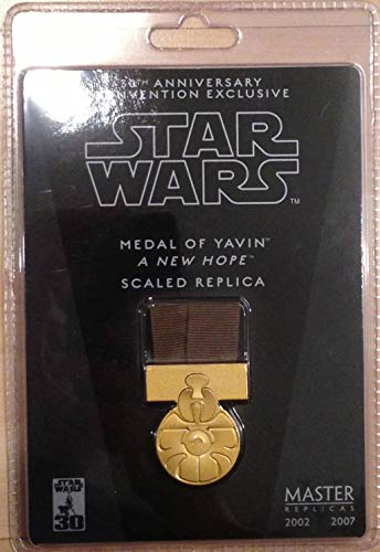 Star Wars 2007 Celebration Europe Medal of Yavin Convention Exclusive Scaled Replica