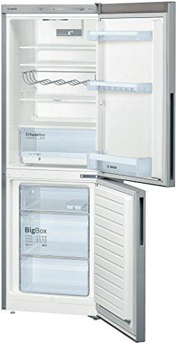 Réfrigérateur combiné Bosch KGV33VL31S - Réfrigérateur congélateur bas - 288 litres -...