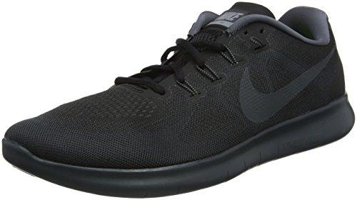 Nike Herren Free RN 2017 Laufschuhe, Schwarz (Black/anthracite-dark Grey/003), 40.5 EU