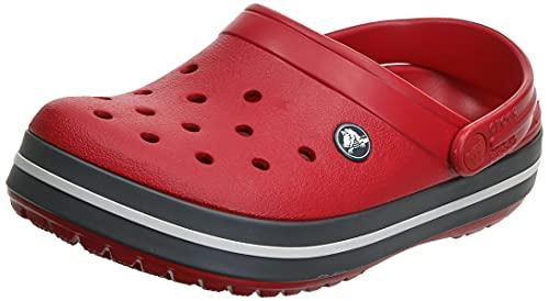 Crocs Crocband, Zuecos Unisex Adulto, Red, 43/44 EU