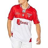[マクロン] Tシャツ 20-21 BIARビアリッツ レプリカホームジャージー ホワイト (00) L