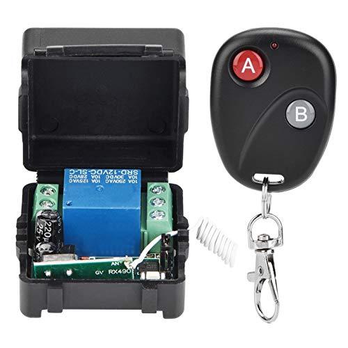 Interruptor teledirigido del formato subminiatura del relé de RF inalámbrico a estrenar, para el hogar(4 remote controls)
