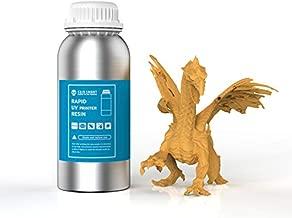 SainSmart 3D Printer Resin Orange Resin Rapid 3D Printing Resin 405nm General Purpose Photopolymer Curing Resin for 3D LCD MSLA Resin Printer 500g Orange