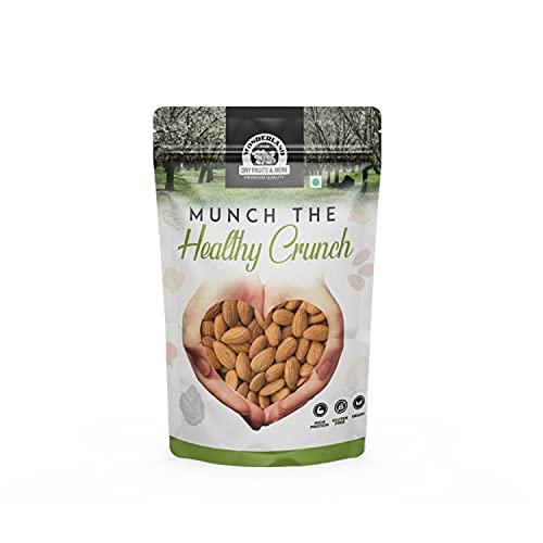 WONDERLAND FOODS (DEVICE) Raw California Healthy Dry Fruits Nut Almonds - 500gram