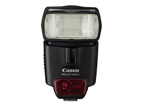 Canon Speedlite 430EX II Flash for Canon Digital SLR Cameras Bulk Packaging (White Box, New)