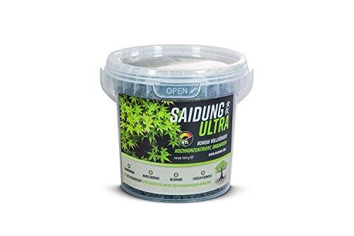 Saidung Ultra Bonsai Volldünger organischer NPK Dünger 0,5 kg Eimer rein pflanzliche Basis