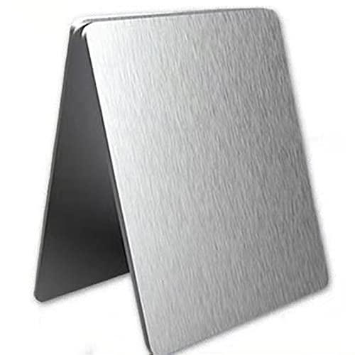 Material de procesamiento de chapa de acero inoxidable 304, espesor 4.0mm, ancho 250mm y longitud250mm.