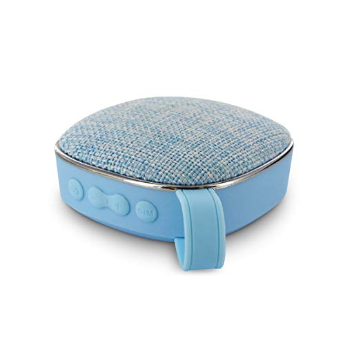 MUVIT Altavoz Bluetooth Life MLSSP0010 Tela Azul FM MICROSD (hasta 32GB) BATERÍA 400MAH FUNC. Manos Libres