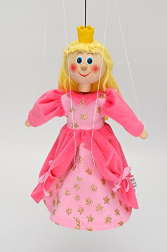 MUBRNO 18110B Prinzessin Marionette, Mehrfarbig