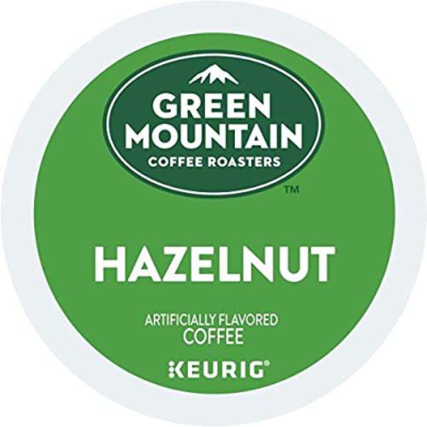 Green Mountain Coffee Roasters Hazelnut Single Serve Coffee K Cup Pod Flavored Coffee 6 Pack 72 Count Total