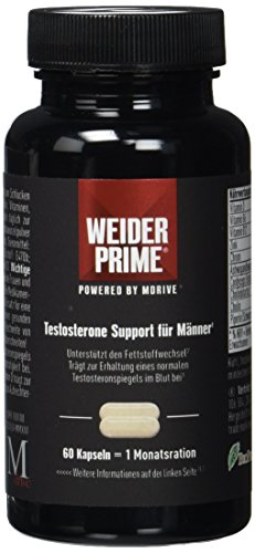 WEIDER PRIME Testosterone Support for Men - 60caps