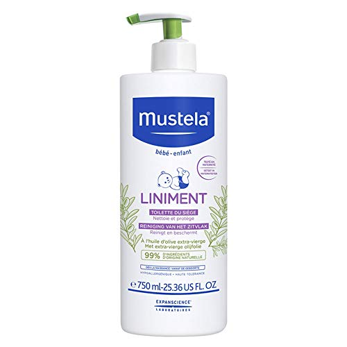 Mustela Bã‰B㉠Liniment Toilette Du Siã¨Ge 750 Ml 750 ml