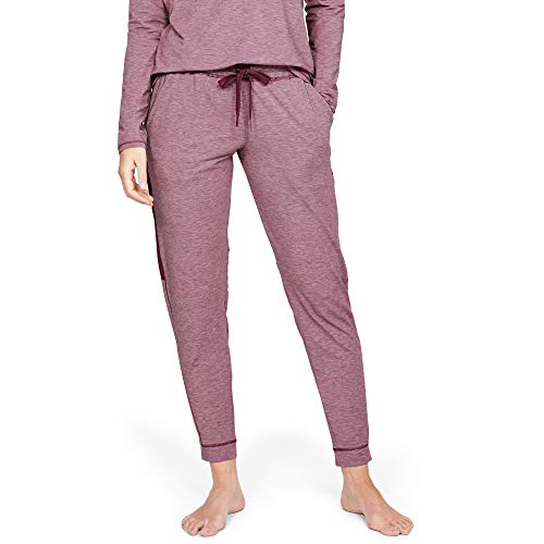 Under Armour Recovery Sleepwear Pantalón, Mujer, Púrpura,