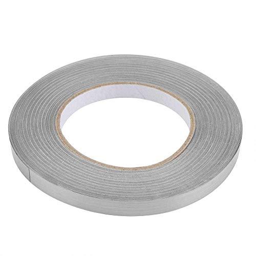 Etiqueta engomada de PVC Lámina de PVC Piso de la habitación Línea de grietas Etiqueta autoadhesiva Decoración de baldosas de esquina de suelo (1 厘米 x50 米 (银色))