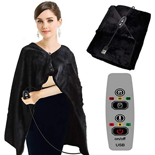 AOUVIK Manta de calefacción eléctrica para el hogar con USB para el...