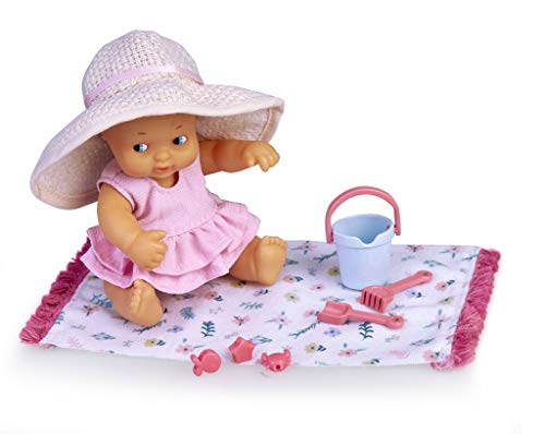 Oferta de los Barriguitas - Muñeca bebé en la Playa con Accesorios (Famosa 700016221)
